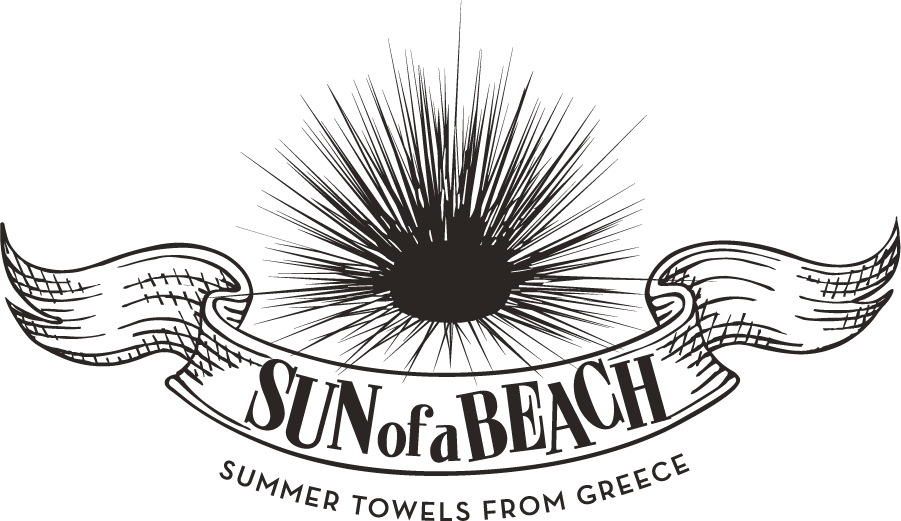 Sun of a beach Logo Black